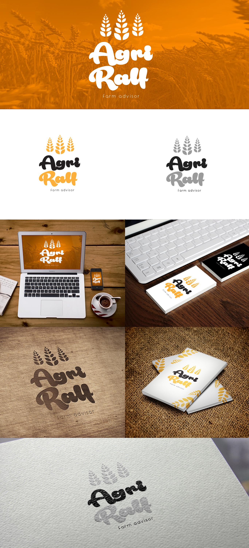 Prezentacja projektu logo dla firmy zajmującej się doradztwem z dziedziny agrokultury