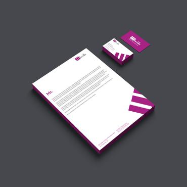 Projekt wizytówek i papieru firmowego