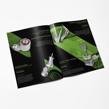 Katalog reklamowy z branży motoryzacyjnej