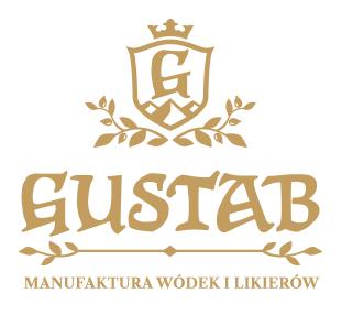 zlote logo Gustab manufaktura wodek i likierow