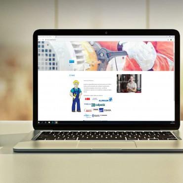 strona internetowa brand hero