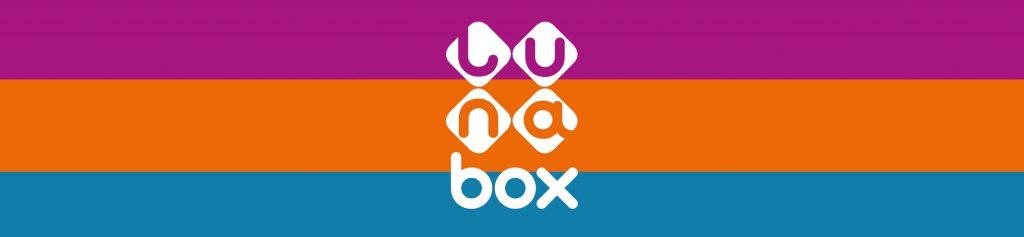 wizerunek marki Lunabox opakowania wizytówki logo
