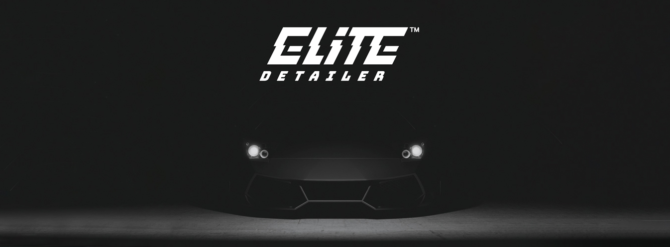 elite detailer samochód lambo światła czarne