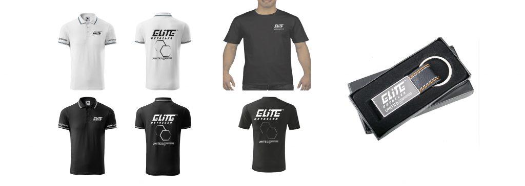 gadżety koszulki polo t-shirt wizerunek marki breloczek